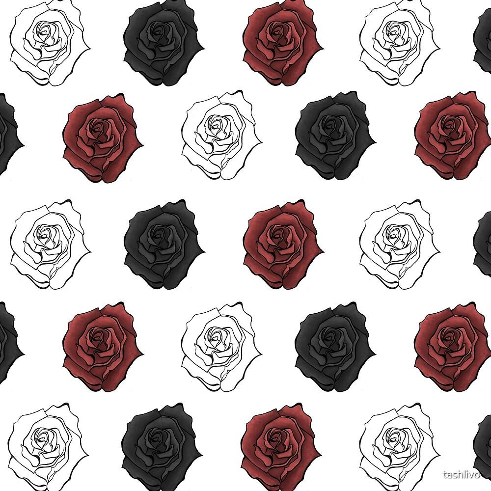 rose bouquet by tashlivo