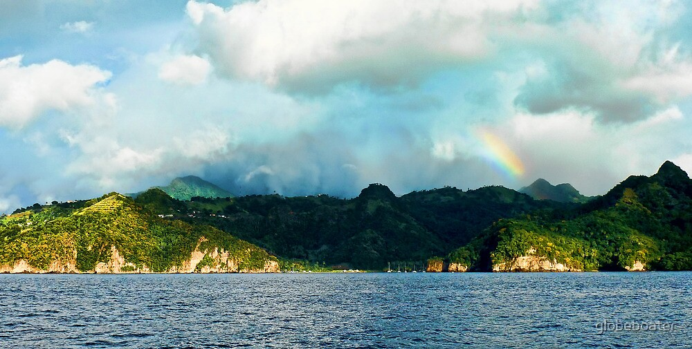 St.Lucia, Marigot Bay by globeboater