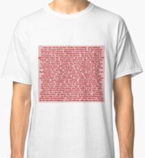 100 Ways To Say I Love You  Classic T-Shirt