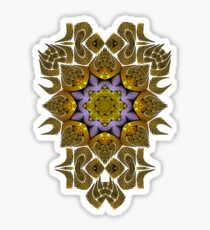 Fractal manipulation Sticker
