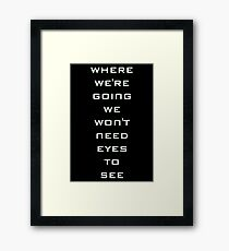 Fun And Games With Dr.Weir Framed Print