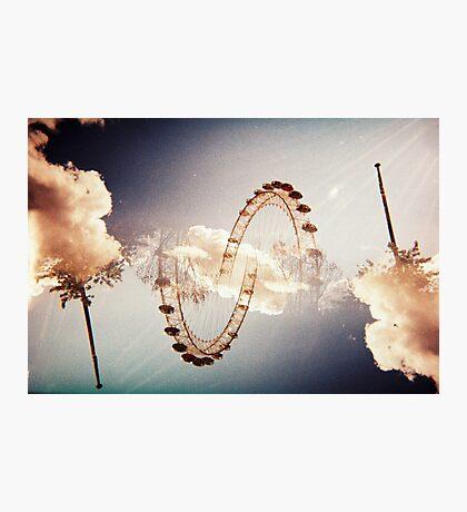 wheel of death Photographic Print