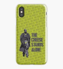Omar Little - The Cheese Stands Alone iPhone Case/Skin