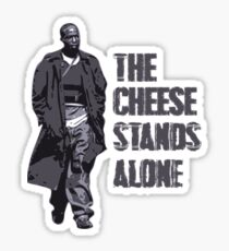 Omar Little - The Cheese Stands Alone Sticker