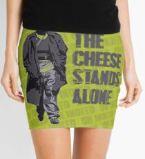 Omar Little - The Cheese Stands Alone Mini Skirt