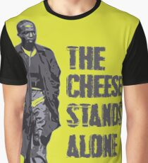 Omar Little - The Cheese Stands Alone Graphic T-Shirt