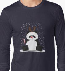 Merry Christmas, Panda! Long Sleeve T-Shirt