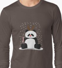 Merry Christmas, Panda! Long Sleeve T-Shirt
