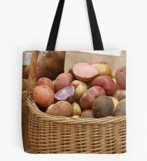 Rainbow potatoes Tote Bag