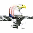 Bald & Bold Eagle by Trenton Hill