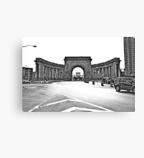 An arched door Canvas Print