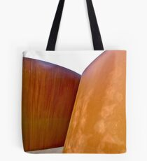 Thirty Foot Tall Wood Abstract Sculpture, Walk Right In Tote Bag