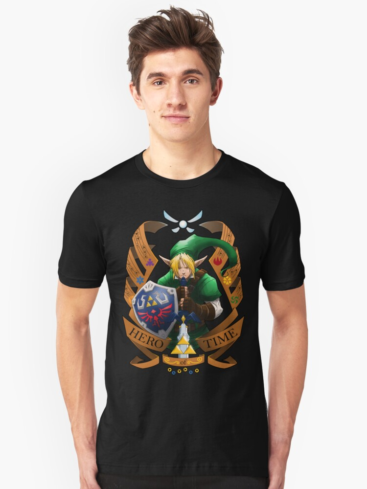 Hero of Time (Green) Unisex T-Shirt Front