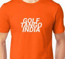 Golf Tango India Unisex T-Shirt