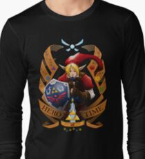 Hero of Time (Red) Long Sleeve T-Shirt