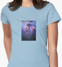 Purple Calla's Womens Fitted T-Shirt