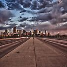Moody Sunset, Denver by anorth7
