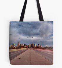 Denver Cityscape Tote Bag