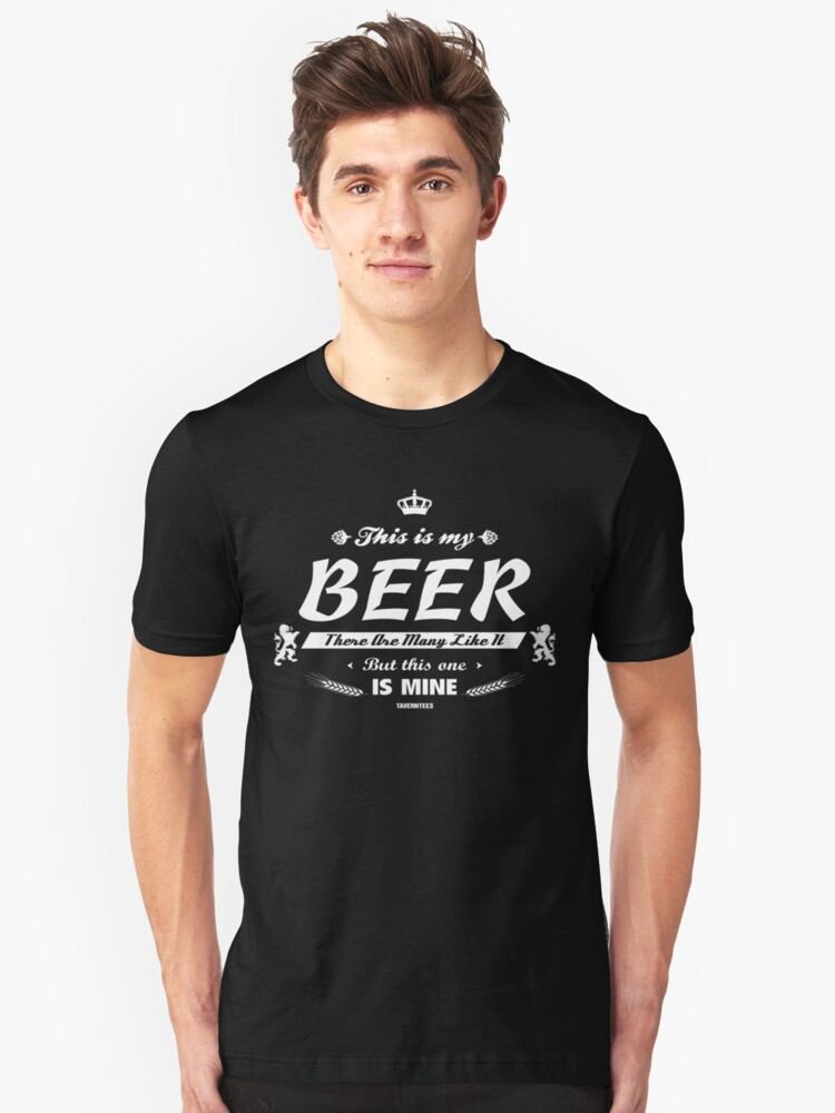 This is me Beer! Unisex T-Shirt Front