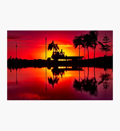 """""""Labouring At Dawn"""" Photographic Print"""