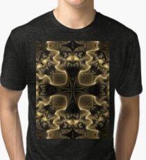 Black N Gold Tri-blend T-Shirt