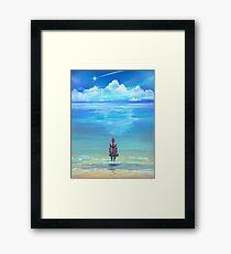 Seashores of Eternity Framed Print