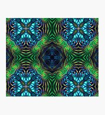 Psychedelic Fractal Manipulation Photographic Print