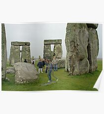 Stonehenge Ghosts Poster