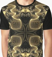 Black N Gold Graphic T-Shirt