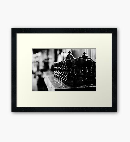 ready for the game Framed Print