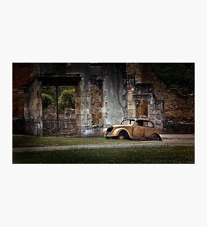 Oradour-sur-Glane Photographic Print