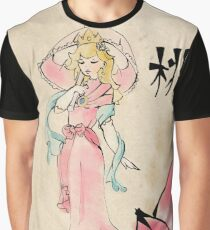 Princess Peach of the Mushroom Dynasty  Graphic T-Shirt