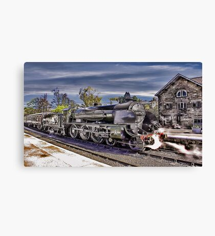 Grosmont Station Canvas Print