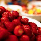 Strawberry Bowl by Adam Jones