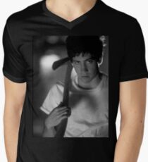 Donnie Darko (Black and White) Men's V-Neck T-Shirt