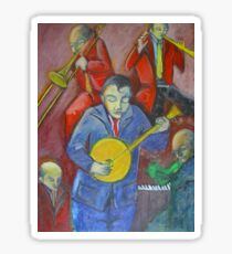 Jazz Band Sticker