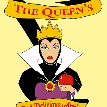 The Queen's Red Delicious Apples by McDubbs