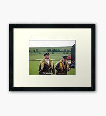 Brylcreem Boys Framed Print