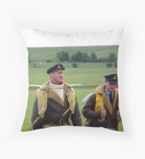 Brylcreem Boys Throw Pillow