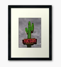 Welcome to Tucson Framed Print