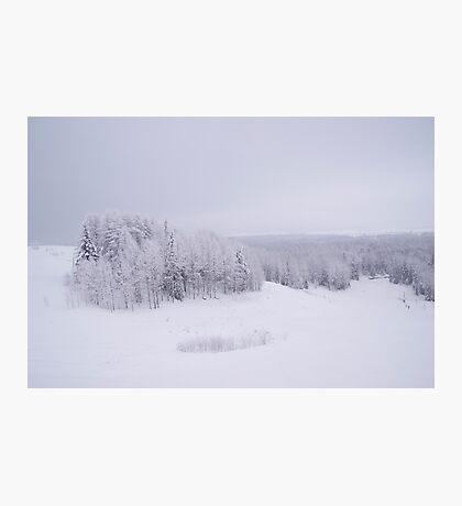 Winter in Golubino Photographic Print