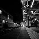 When the train come, We will gone. by sxhuang818
