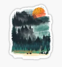 Wilderness Sticker
