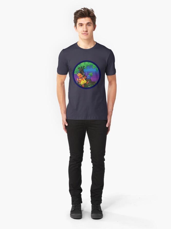 Alternate view of Gotta Smoke em All 2 Slim Fit T-Shirt
