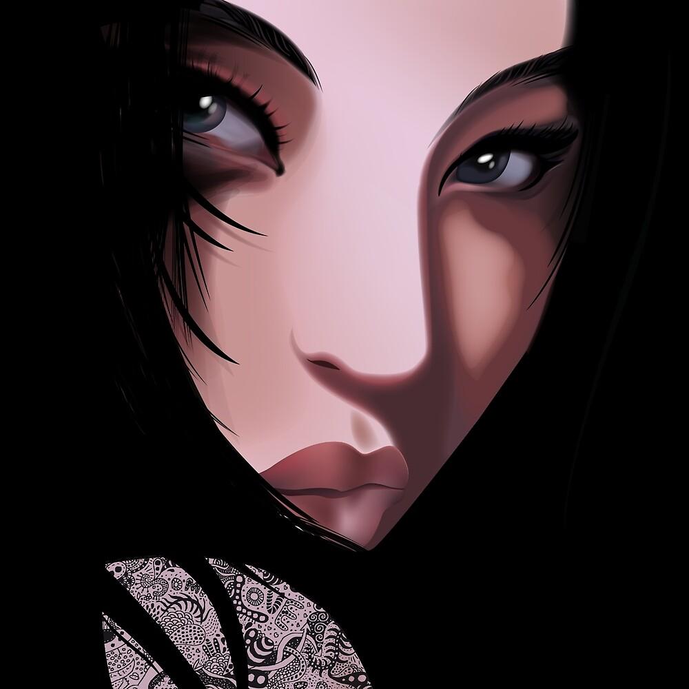 The Black Geisha by DesignDinamique