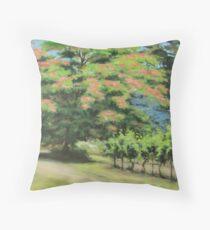 Vineyard Mimosa Throw Pillow