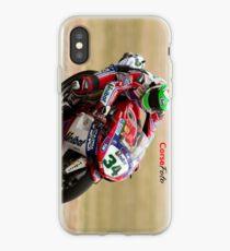 Davide Giugliano at Miller Motorsports park 2012 iPhone Case