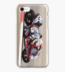 Carlos Checa at Miller Motorsports park 2012 iPhone Case/Skin