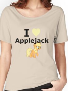 I Heart Applejack Women's Relaxed Fit T-Shirt