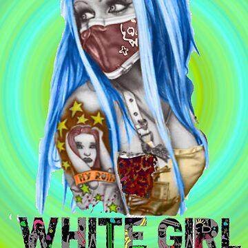 White Girl by princessvenom